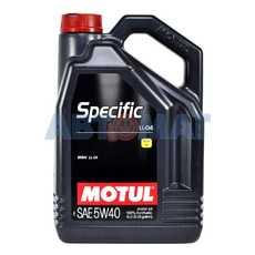 Масло моторное Motul Specific BMW LL-04 5W40 5л синтетическое