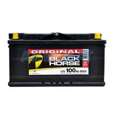 Аккумулятор BLACK HORSE - 100А/ч 800А +D