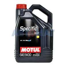 Масло моторное Motul Specific DEXOS2 5w30 5л синтетическое