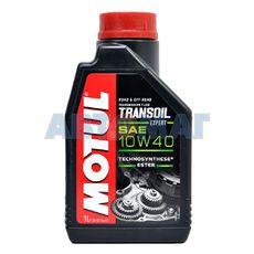 Масло трансмиссионное Motul Transoil Expert 10W40 1л полусинтетическое