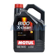 Масло моторное Motul 8100 X-Clean C3 5w30 5л синтетическое