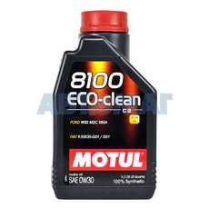 Масло моторное Motul 8100 Eco-Clean 0w30 С2 1л синтетическое