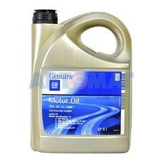 Масло моторное General Motors Dexos2 LongLife 5w30 5л синтетическое