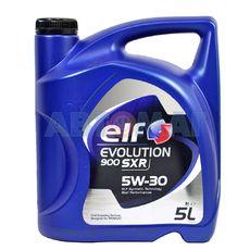 Масло моторное Elf Evolution 900 SXR 5w30 5л синтетическое