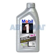 Масло моторное Mobil 1 X1 5w30 1л синтетическое