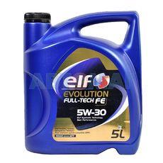 Масло моторное Elf Evolution Full-Tech FE 5w30 5л синтетическое