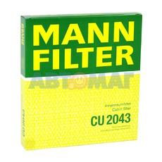 Фильтр воздушный MANN CU 2043